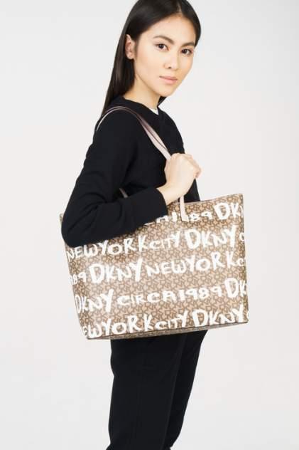 Сумка женская DKNY R84A4756 коричневая
