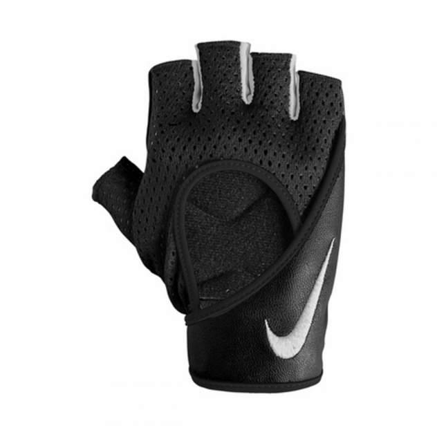 Перчатки Nike Women's PRO Perf Wrap Training Gloves, черные/белые, L
