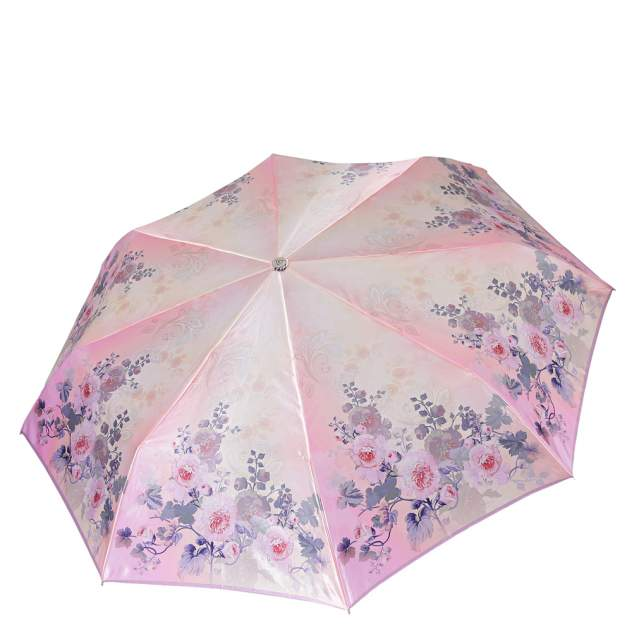 Зонт складной женский автоматический FABRETTI L-19107-8 розовый