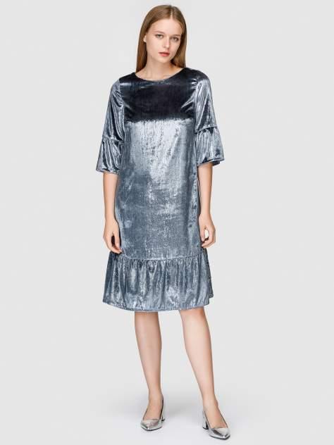 Платье женское Helmidge 7803 серое 12 UK