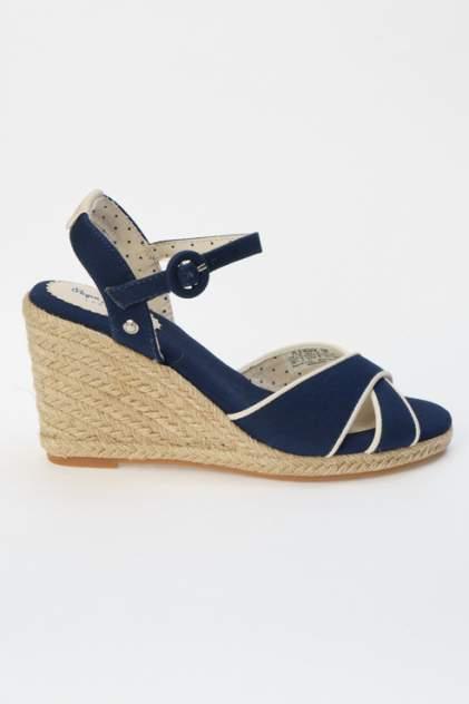 Босоножки женские Pepe Jeans PLS90404 синие 37 RU