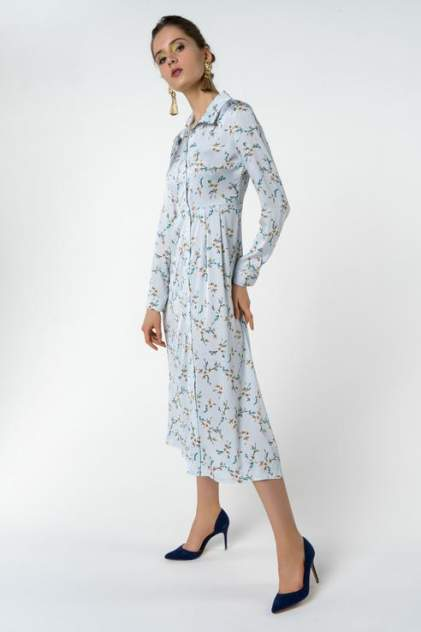 Вечернее платье женское Fashion Confession 5434 голубое 42 RU