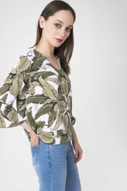 Блуза женская ZARINA 8224085315012 зеленая 42 RU