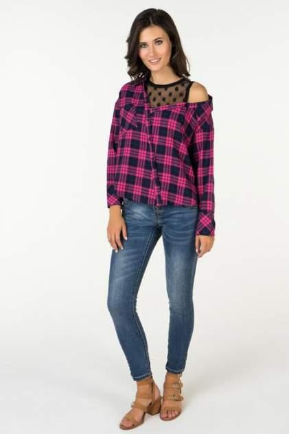 Рубашка женская Marimay 7285 розовая 42 RU
