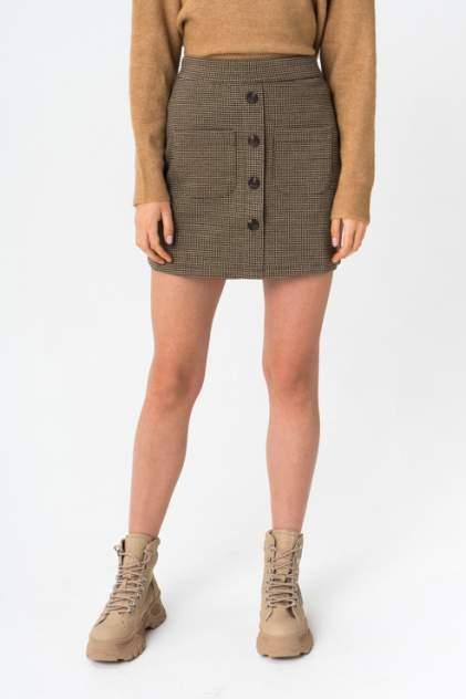 Женская юбка Jacqueline de Yong 15192412, коричневый