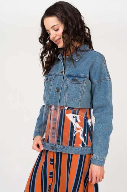 Джинсовая куртка женская Noisy may 27005688 голубая L