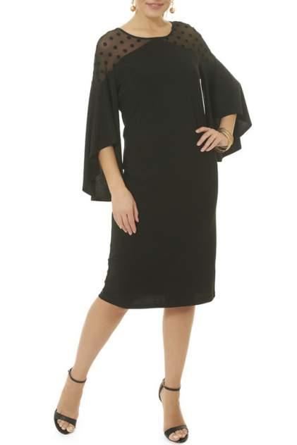 Платье женское Argent LALDT8005 черное 54 RU
