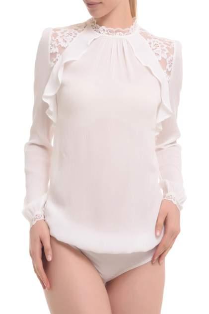 Блуза женская GENEVIE L 5510 белая XL