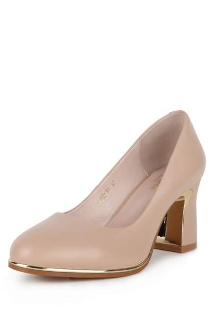 Туфли женские Pierre Cardin 710018536 бежевые 38 RU