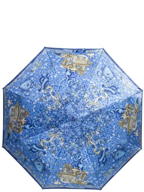 Зонт складной женский автоматический Eleganzza 01-00029155 разноцветный/синий