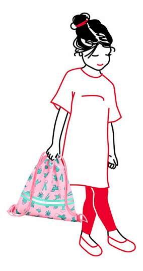 Мешок для обуви Reisenthel Mysac Cactus Pink