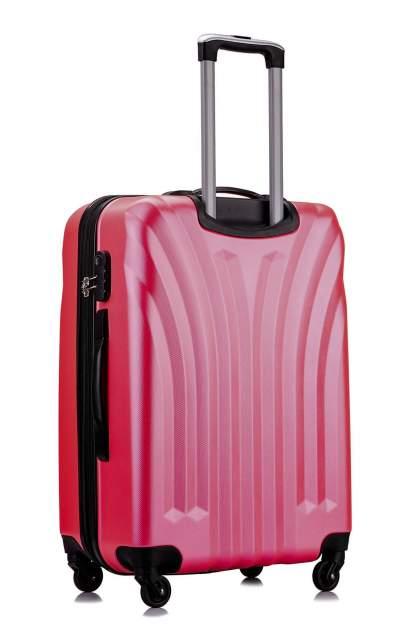 Чемодан с расширением L'Case Phuket-20 Розовый ручная кладь S