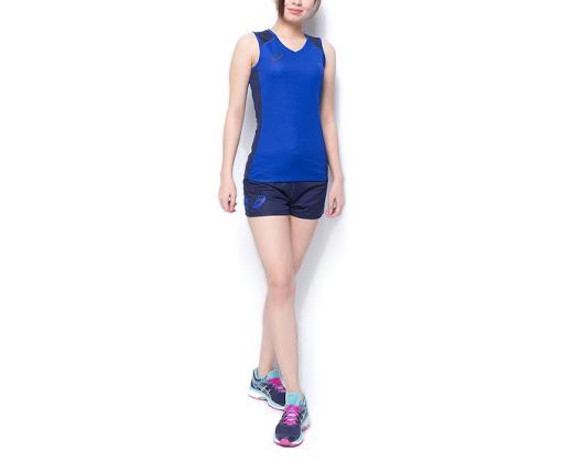 Спортивный костюм Asics Sleeveless Set, blue, S INT