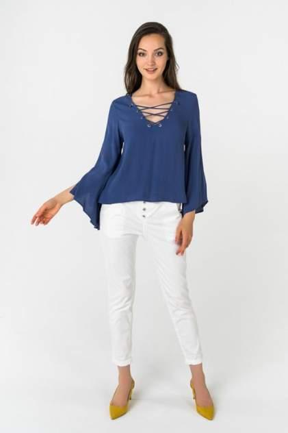 Блуза женская Broadway 10158737 синяя L