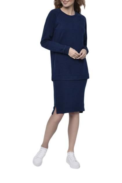 Свитшот женский Nic Club BOSTON 1802 синий XL