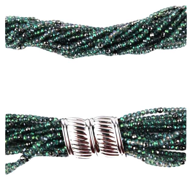 Бусы женские My-bijou 303-061, гематит