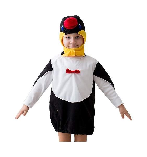 Карнавальный костюм Бока, цв. черный, белый