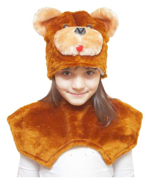 Карнавальный костюм Бока Медведь, цв. коричневый р.122