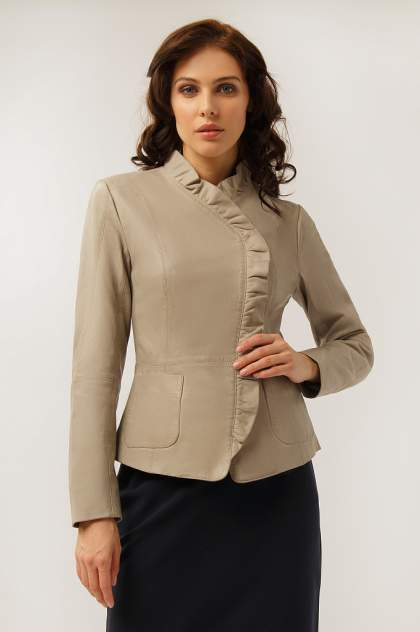 Куртка женская Finn Flare CB19-17010 коричневая L