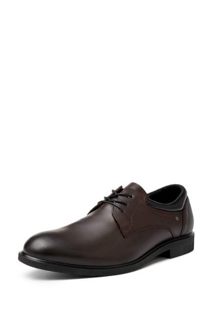 Туфли мужские Alessio Nesca M6208025 коричневые 40 RU