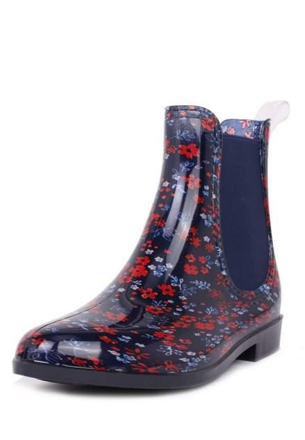 Резиновые сапоги женские T.Taccardi 02206010 разноцветные 37 RU