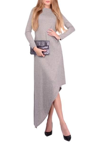 Платье женское FRANCESCA LUCINI F0816-4 серое 42 RU