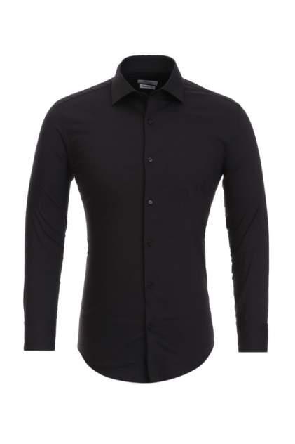 Рубашка мужская BAWER RZ1111071-09 черная XL
