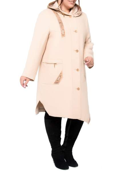 Пальто женское KR 0779 розовое 60 RU