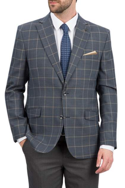 Пиджак мужской BAZIONI 1121-2 M DENTRO LUX серый 54 RU