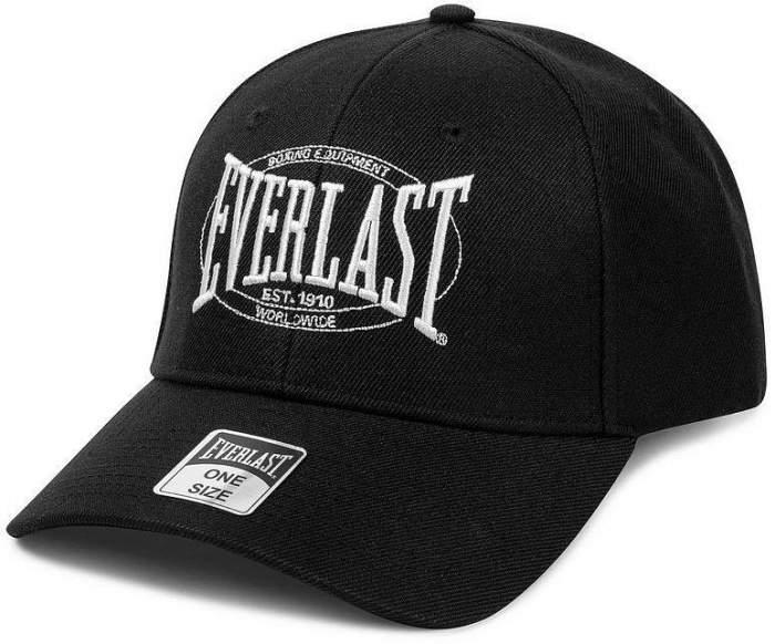 Бейсболка Everlast Authentic Logo black