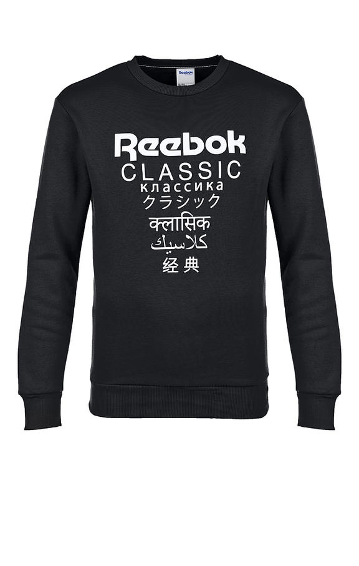 Толстовка мужская Reebok DJ1891, черный