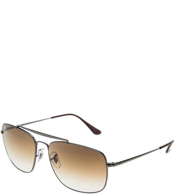 Солнцезащитные очки унисекс Ray Ban 0RB3560 004/5161, серебряный