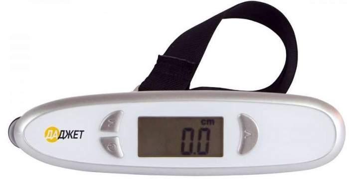 Весы для багажа с электронной рулеткой Даджет KIT MT4017 (White)