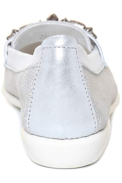 Топсайдеры женские THE FLEXX A103/30 DREAM ON WHITE серые 38.5 RU