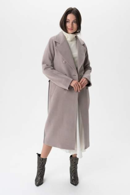 Пальто женское ElectraStyle 5-8117/4-128 серое 40 RU