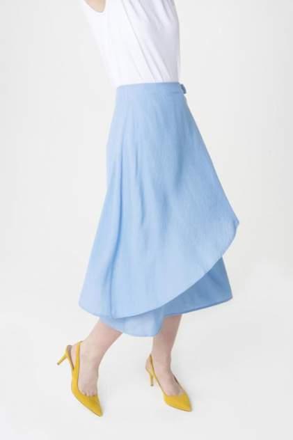 Юбка женская ZARINA 8226205201041 голубая 48 RU