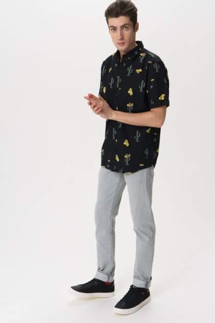 Рубашка мужская ONLY & SONS 22013084 черная L