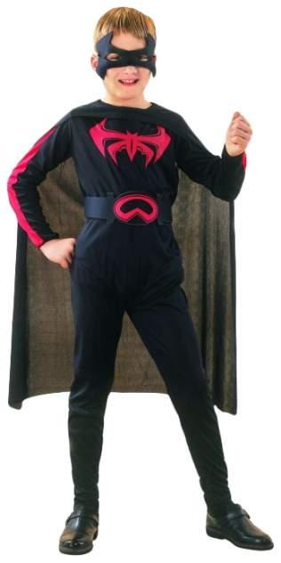Карнавальный костюм Snowmen Бэтмен; Герои DC, цв. черный р.134