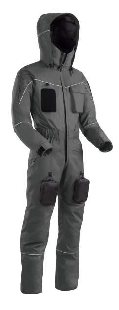 Спортивный комбинезон мужской Bask Worker Suit, серый