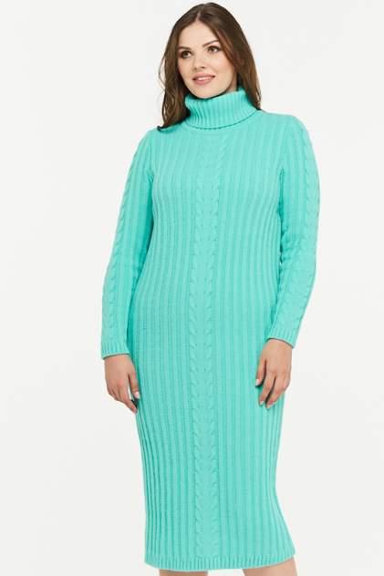Платье женское VAY 2297 зеленое 54 RU