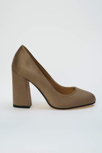 Туфли женские Ennergiia L26-J71 коричневые 38 RU