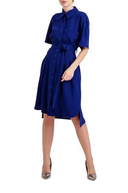 Платье женское BGN синее 38