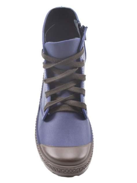 Резиновые ботинки женские Jerado 802-3 синие 37 RU