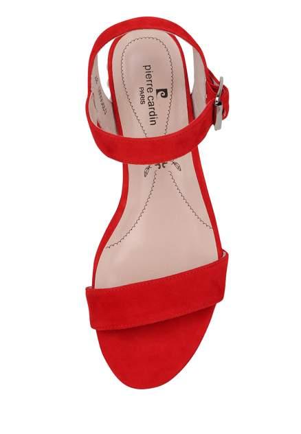 Босоножки женские Pierre Cardin 710017531 красные 36 RU