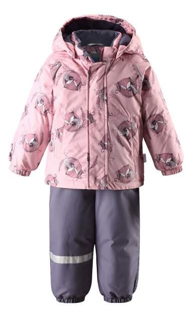 Комплект верхней одежды Lassie, цв. розовый р. 80