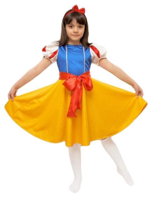 Карнавальный костюм Бока Белоснежка, цв. разноцветный р.116
