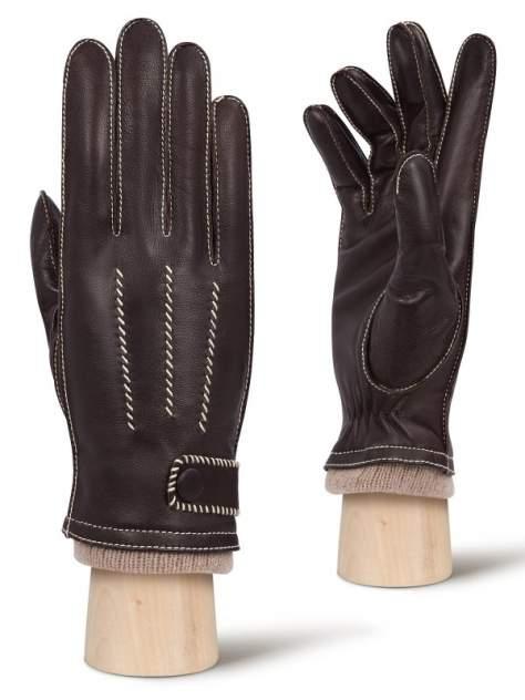 Перчатки мужские Eleganzza OS01750 коричневые 8