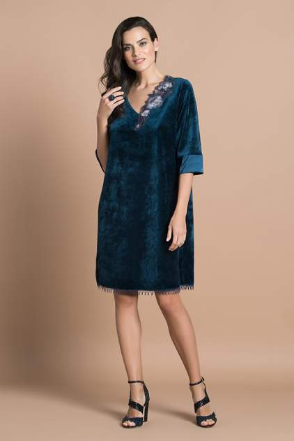 Домашнее платье женское Laete 20347 зеленое L