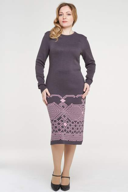 Женское платье VAY 182-2376, серый