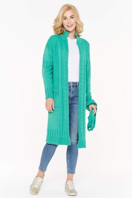 Жакет женский VAY 192-1592 зеленый 48 RU